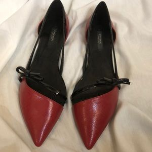 NEW stylish red slippers